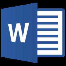 texte tribune word clic formalités
