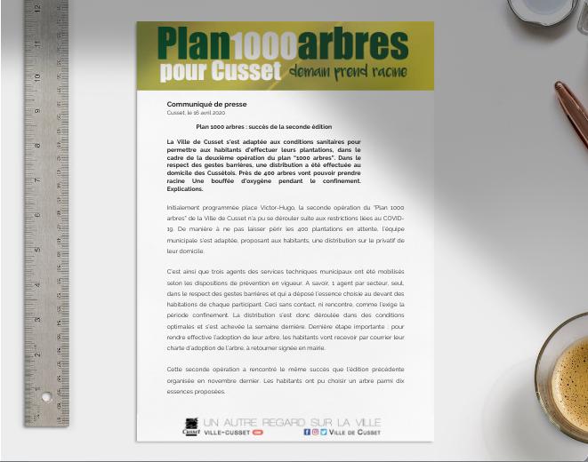 CP plan 1000 arbres