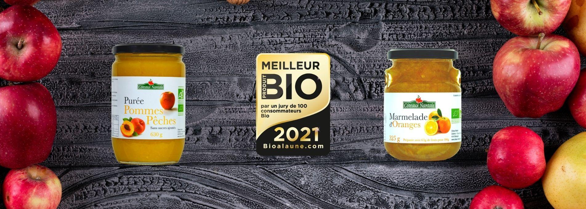 Les Côteaux Nantais lauréats des meilleurs produits bio 2021